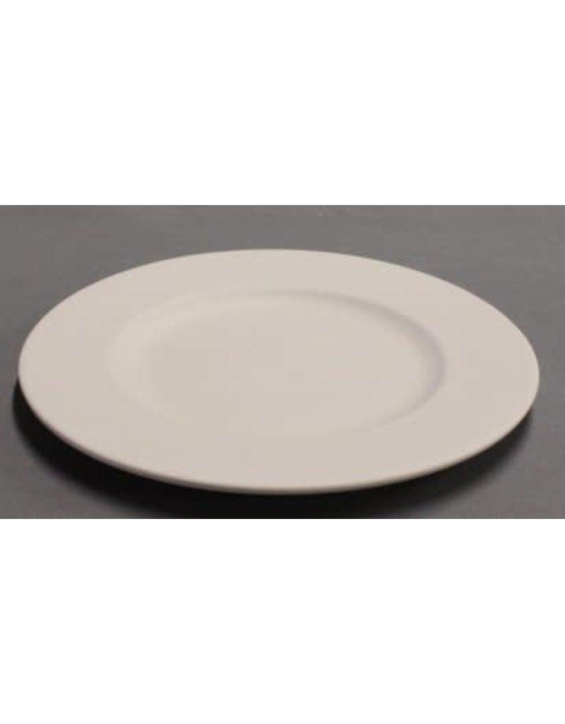 DUTCH MOLDS DM 214 mal ontbijtbord met brede rand 21 cm