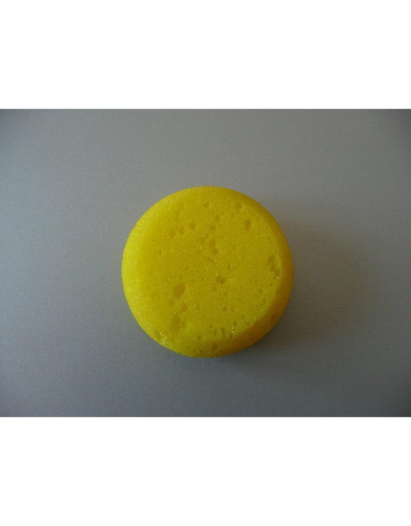 MISC sponsje geel rond