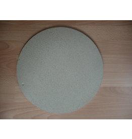MISC ovenplaat rond 38 cm diam 1 cm dik