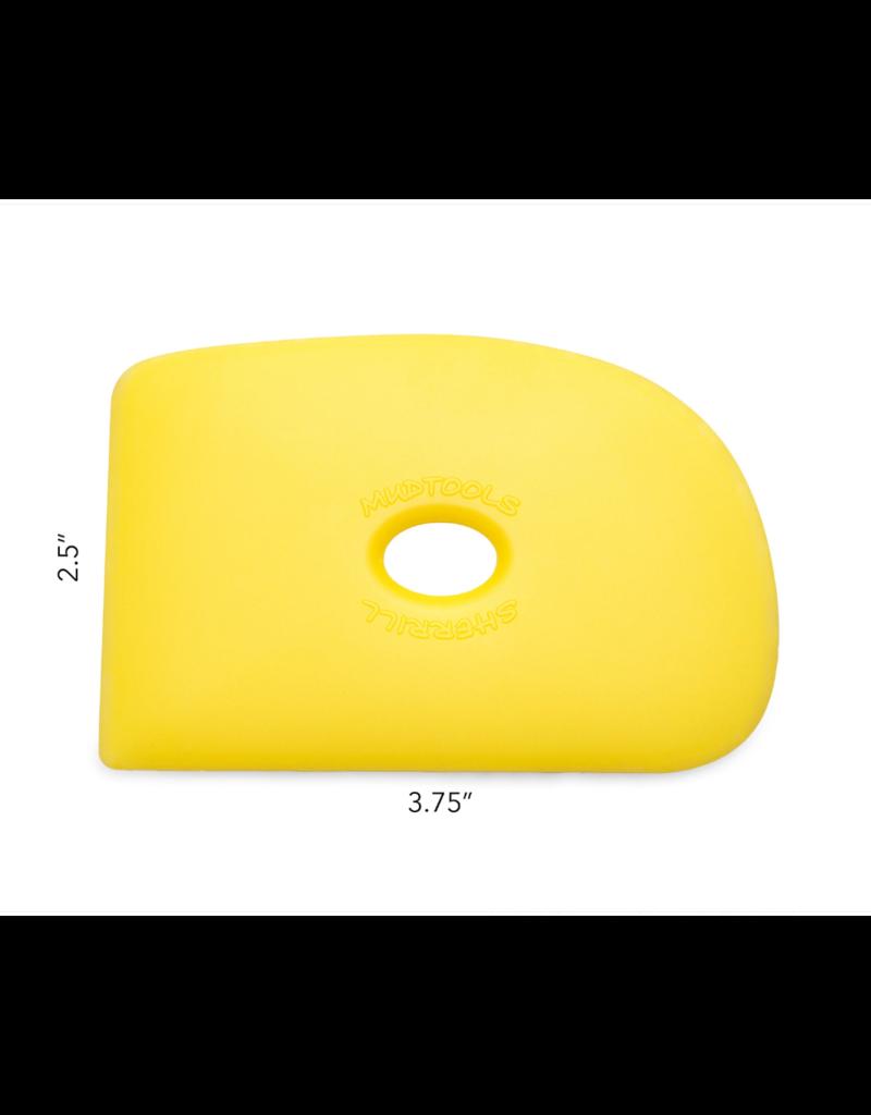 MUDTOOLS mudtool shape 2 geel X4