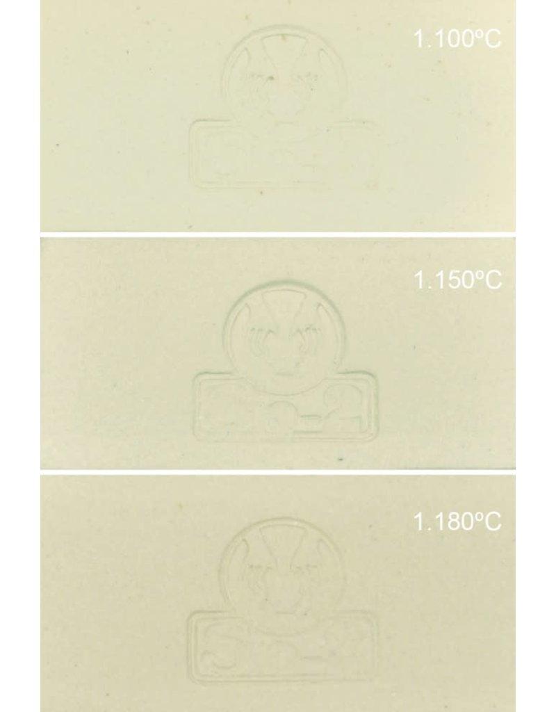 SiO2 Sio2 PGV draaiklei extra witbakkend serviesgoed 1150°-1180°C  12,5 kg