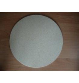 MISC ovenplaat rond 47 cm diam 1.5 cm dik