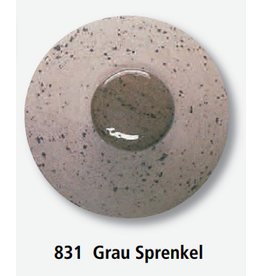TERRACOLOR 831 engobe grijs spikkel 1020 1180 1 kg
