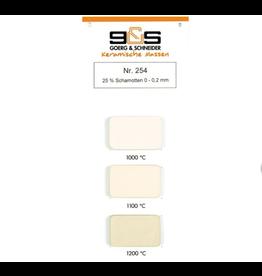 G&S CREATON GS254 witbakkend 25 % 0-0,2 mm 1100°-1280°C
