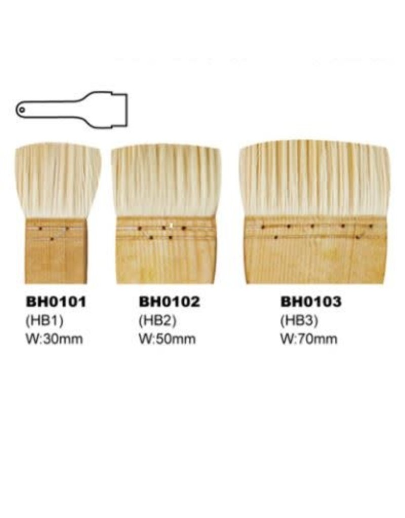 KB BH0103 HAKE penseel 70 mm