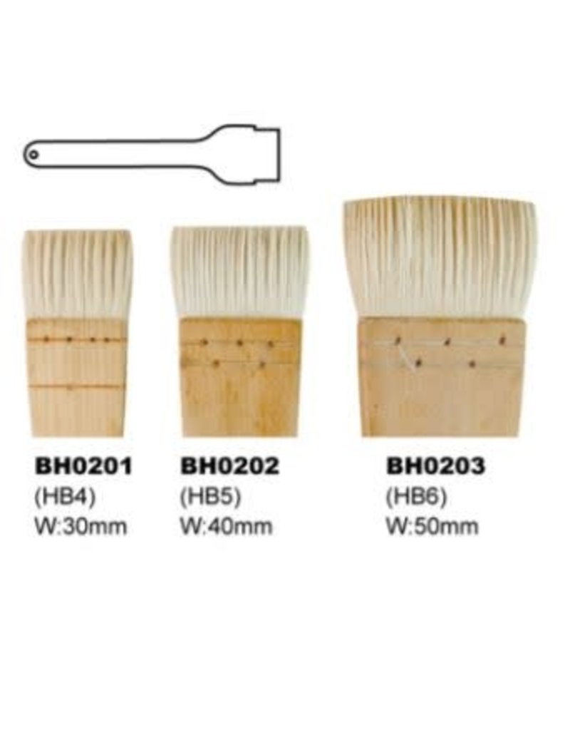 KB BH0202 HAKE penseel 40 mm L