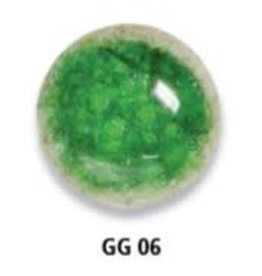 KB MISC GG06 glasgranulaat smaragdgroen 250 g