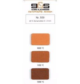 G&S CREATON GS559 roodbakkend 40 %  0-2 mm 980°-1220°C