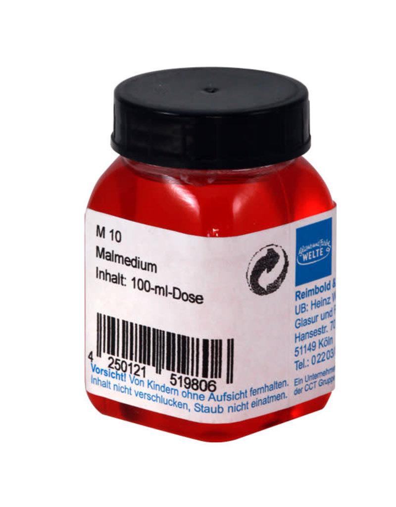 WELTE WELTE M10 malmedium voor opglazuren 100 ml