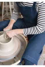 Potters for potters Pottersschort denim donkerblauw