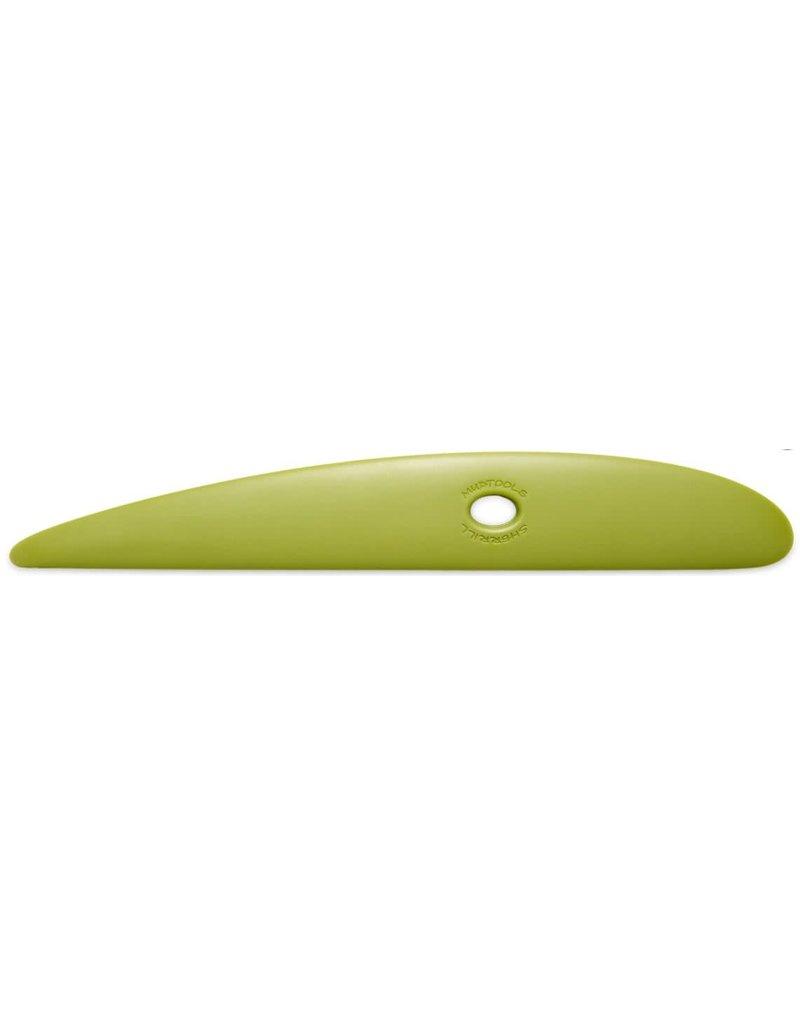 MUDTOOLS mudtool platter rib large 28.5 cm groen