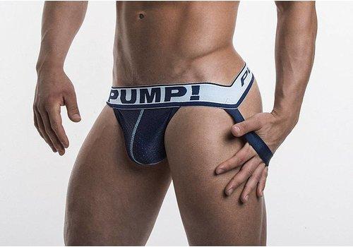 PUMP! Suspensorio Steel azul