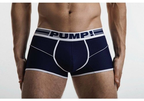 PUMP! Navy Free-fit Boxer