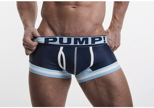 PUMP! Touchdown Blue Steel Boxer