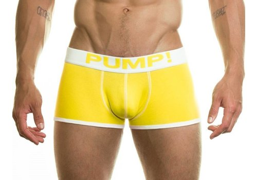 PUMP! Yellow Neon Fuel Boxer