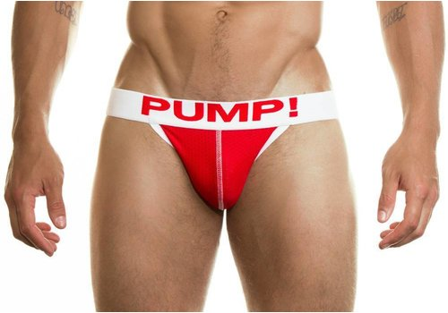 PUMP! Suspensorio Neon Fuel rojo