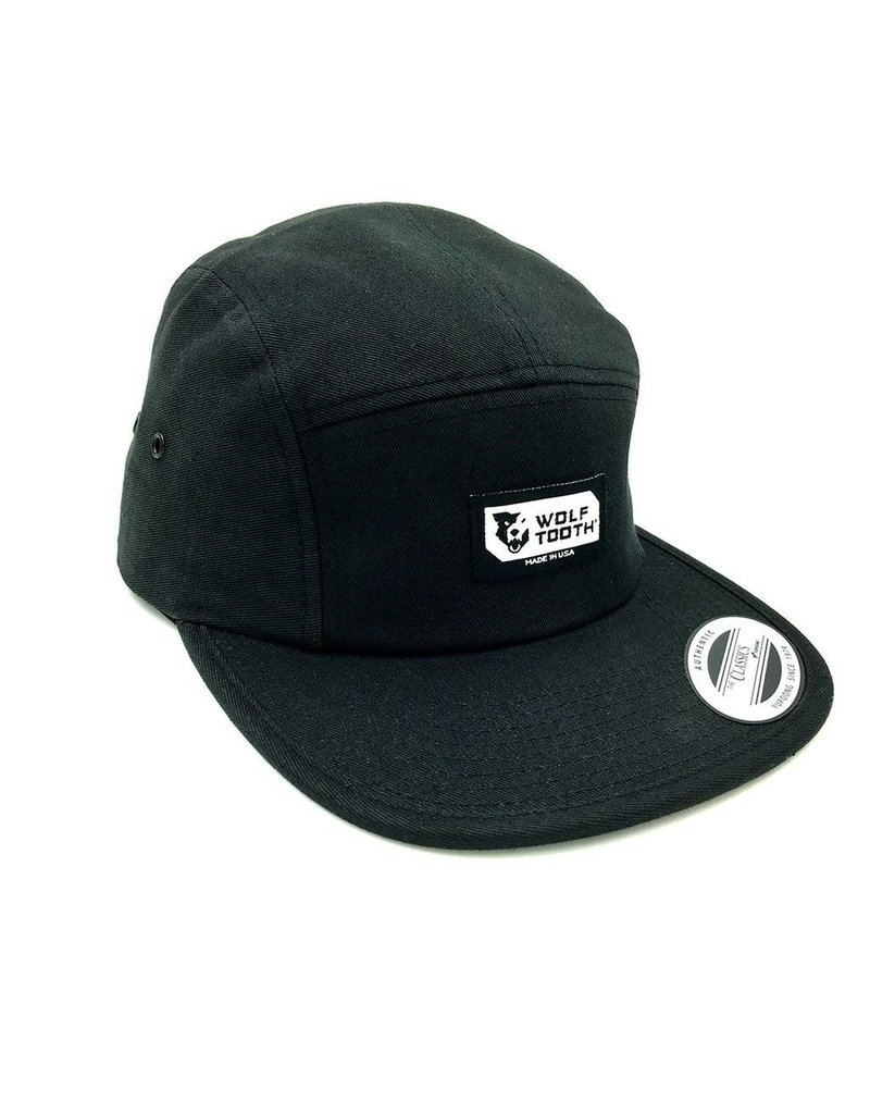 Wolf Tooth Components  Wolf Tooth Logo 5-Panel Camper Hat