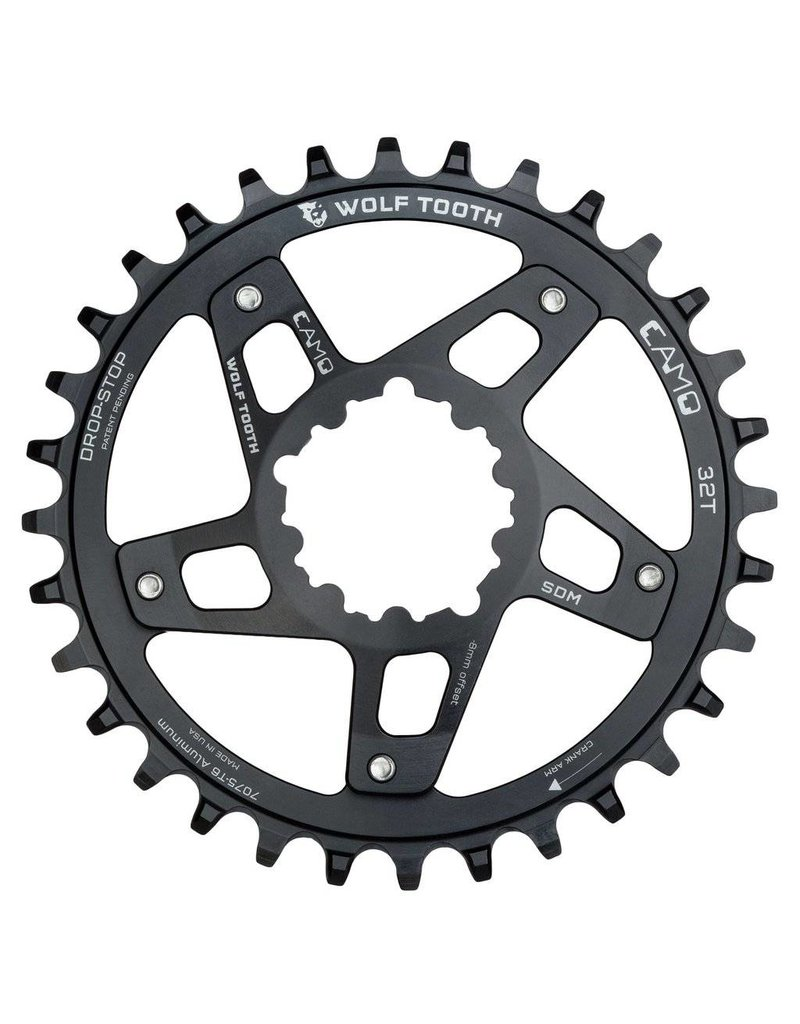 Wolf Tooth Components  CAMO Aluminum Round Chainring