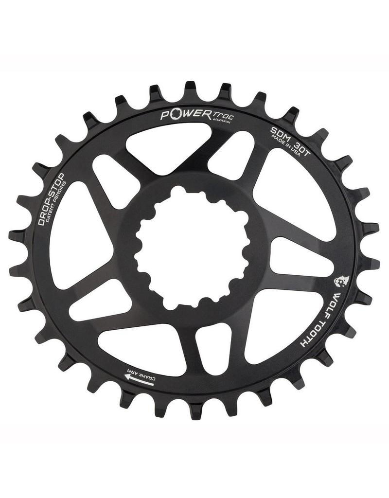 Wolf Tooth Components  Elliptical Direct Mount for SRAM Cranks