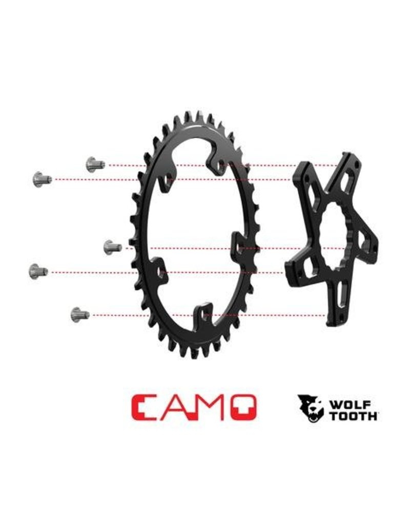 Wolf Tooth Components  CAMO Direct Mount Spider For Race Face Cinch