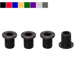 Wolf Tooth Components  Set of 4 Chainring Bolts for M8 threaded chainrings (10 mm long)