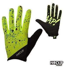 Handup  Braaap - Splatter - Hi Viz Yellow/Cyan
