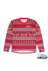 Handup  Tacky Sweater Technical Trail Jersey LS - RED