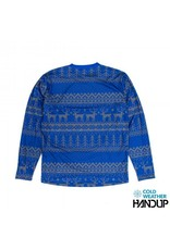 Handup  Tacky Sweater Technical Trail Jersey LS - BLUE