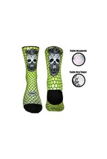 Doppio Slavo Skull with Beard white Fluo