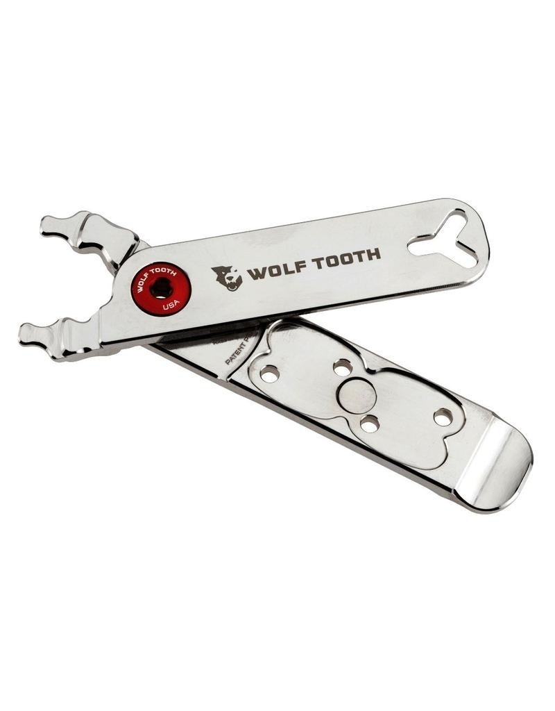 Wolf Tooth Components  Pack Pliers Nickel Plated - Master Link Combo Pliers