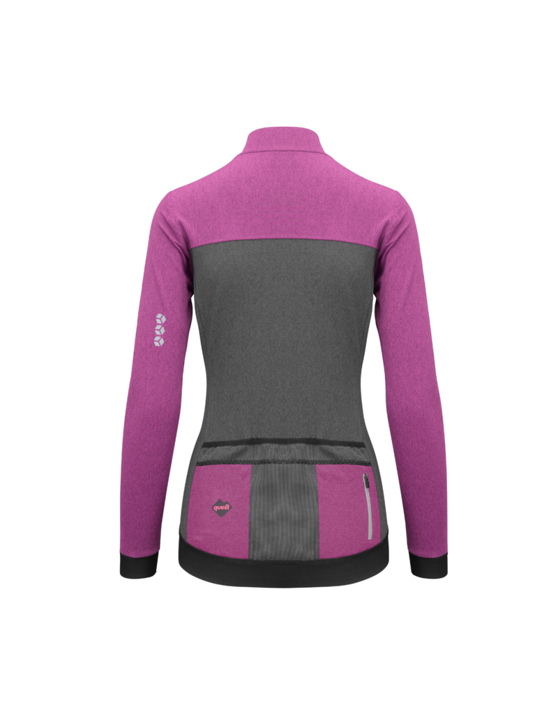 Quest  Jersey long sleeve – Magnetic Violet Woman ♀