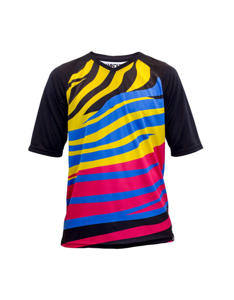 Handup  Short Sleeve Jersey - Zebra Party
