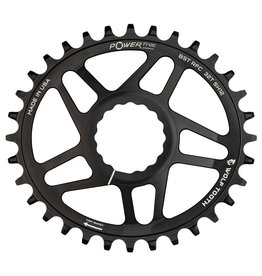 Wolf Tooth Components  Elliptical Direct Mount Chainrings for Race Face Cinch for Shimano Hyperglide+ 12spd Chain