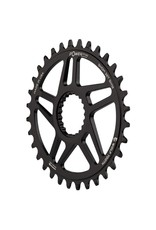 Wolf Tooth Components  Elliptical Direct Mount Chainrings for Shimano Cranks for Shimano 12spd Hyperglide+ Chain