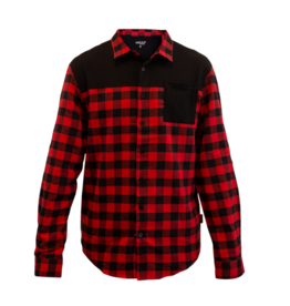Handup  FlexTop Flannel - Red & Black