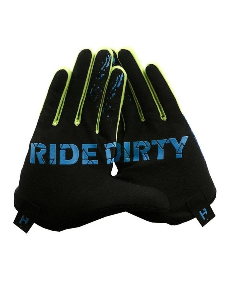 Handup  Gloves - Blue / Yellow Prizm