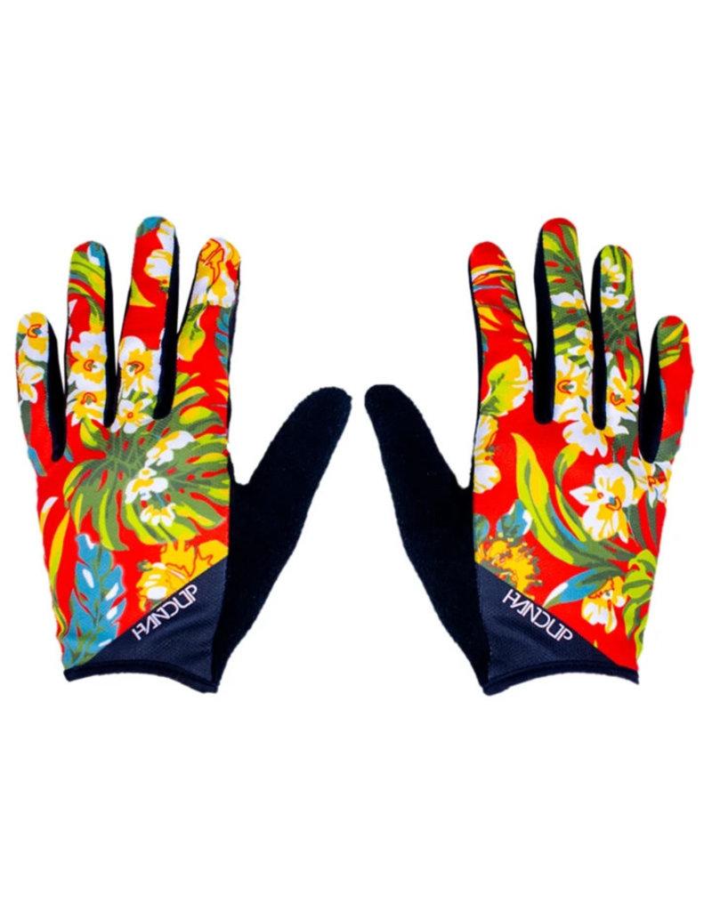 Handup  Gloves - Red Floral