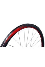 Beast Components  RR40 Carbon Wheelset  UD RED