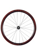 Beast Components  RR40 Carbon Wheelset - Center Lock - FW: 12x100mm | RW: 12x142mm - SQUARE RED