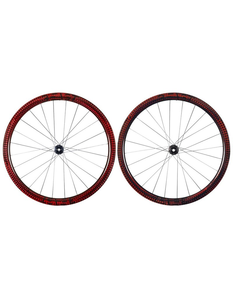 Beast Components  RX40 Carbon Wheelset  SQUARE RED