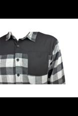 Handup  FlexTop Flannel - Grey & Black