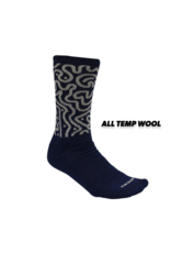 Handup  Navy Switchback Wool