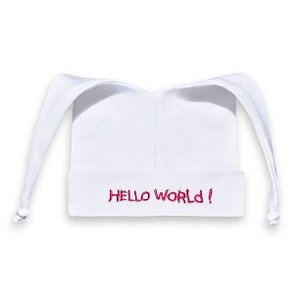 Mutsje Hello World Fuchsia