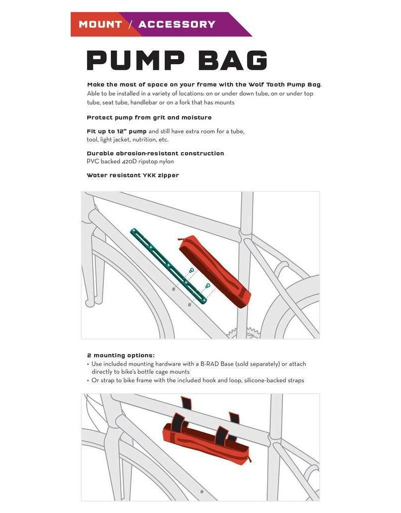 Wolf Tooth Components B-RAD PUMP BAG