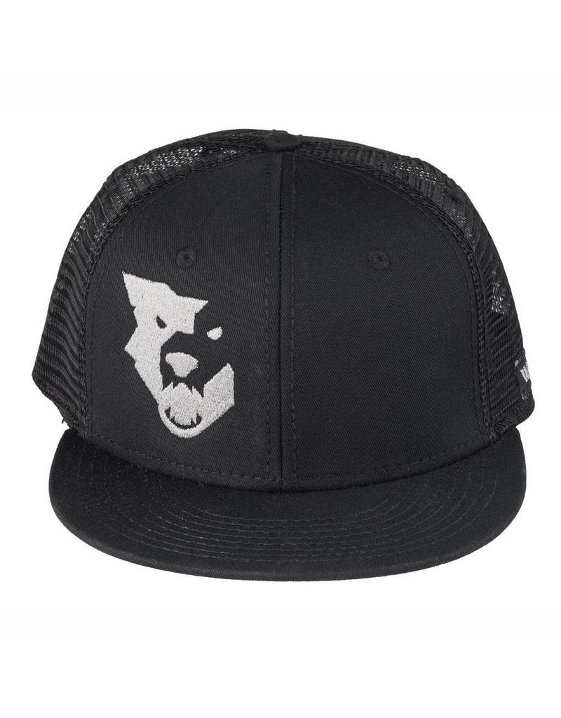 Wolf Tooth Components WOLF TOOTH LOGO FLAT BILL TRUCKER HAT
