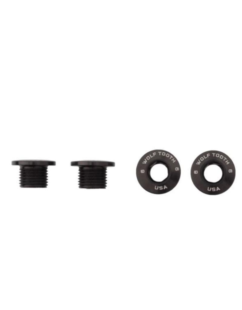 Wolf Tooth Components Set of 4 Chainring Bolts+Nuts for 1X