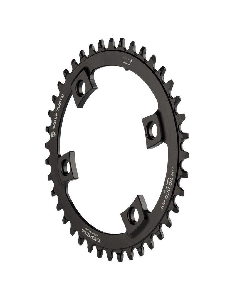 Wolf Tooth Components Elliptical 110 BCD Asymmetric 4-Bolt for Shimano Cranks