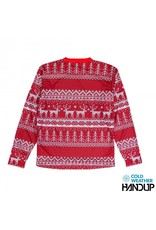 Handup Gloves Tacky Sweater Technical Trail Jersey LS - RED