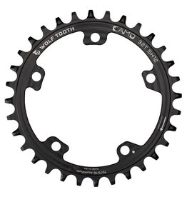Wolf Tooth Components CAMO Aluminum Round Chainrings for Shimano 12spd Hyperglide+ Chain