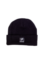 Handup  Beanie - H Logo Knitted - Black